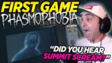 Summit1G FIRST GAME playing Phasmophobia with Chang Gang