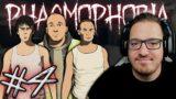 🎥 Phasmophobia #4   SURLÓFÉNY   TÉGLA A SZÖNYEG ELLENŐR  