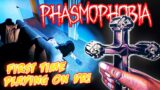 I PLAYED PHASMOPHOBIA IN VR FOR THE FIRST TIME!!! *I HAD TO STOP*