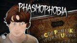 ПРИЗРАК ПОСЛАЛ НАС! ДОСКА УИДЖИ! – Phasmophobia