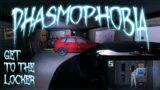 AROUND THE LOCKERS   Phasmophobia   Multiplayer Gameplay   208