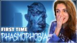 FIRST TIME GHOST HUNTING! – PHASMOPHOBIA