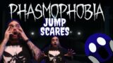 Phasmophobia Jump Scares (It will Be fun they Said!?!) 😱
