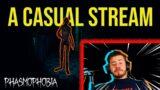 A casual Phasmophobia stream with NeenoPeeno