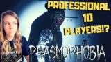PROFESSIONAL Settings with 10 PLAYERS – PHASMOPHOBIA – NEW MULTIPLAYER HORROR Game – Live Gameplay