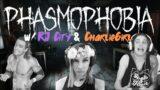 Phasmophobia w/ @RJ City & CharlieGirl