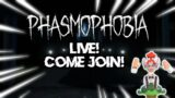 WE HUNT FOR GHOSTS| Phasmophobia LIVE First Ever PC Stream