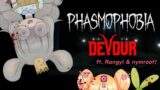 【👻 HORROR COLLAB 】Phasmophobia & DEVOUR ft. Rangyi & Nymroot!