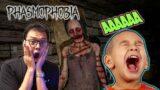 KAGETIN BULE, SETANNYA DI NYANYIIN WKWKWK!! – Phasmophobia NGAKAK ABIS