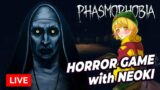 🔴LIVE! Japanese Girl Plays a Horror Game with Me   Phasmophobia