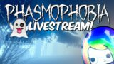 💜 LIVE – Early spooks! Phasmophobia Update! 👻
