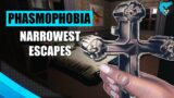 Escaping by a Hair   Phasmophobia Solo Professional Gameplay