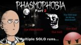 Every ghost weirder than the other! – Phasmophobia #2 (But the editor snorted energy drink powder)