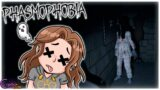 SE ME APARECE EL FANTASMA Y PASO MUCHO MIEDO | PHASMOPHOBIA | CRYSTALSIMS