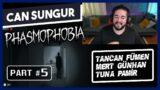 Can Sungur – PHASMOPHOBIA Oynuyor w Tancan, Mert Günhan, Tuna Pamir   Bölüm 05
