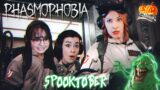 PHASMOPHOBIA Co-Op – BUSTING GHOSTS WITH THE GIRLS PART 1@AGirlAndAGame @NukaEle